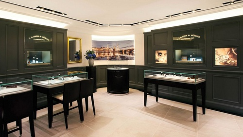 A. Lange & Söhne watch shop 1881 Heritage Hong Kong.