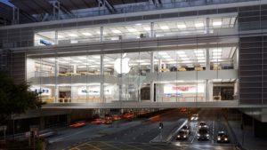 Apple Store ifc mall Hong Kong.