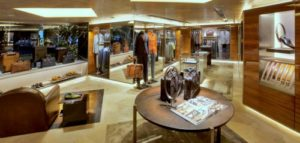 Berluti men's clothing store Landmark Hong Kong.