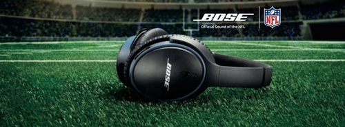 """Bose """"Official Sound of the NFL""""."""