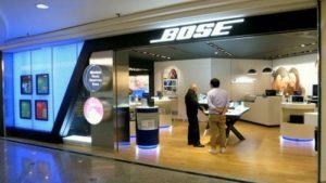 Bose store Times Square Hong Kong.