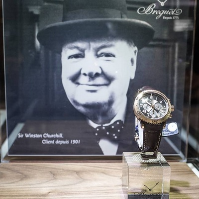 Breguet watch Winston Churchill.