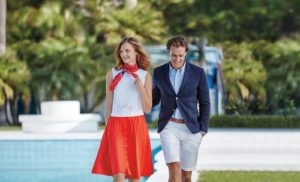 Brooks Brothers men's & women's clothing.