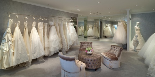 Central Weddings bridal salon Landmark Hong Kong.