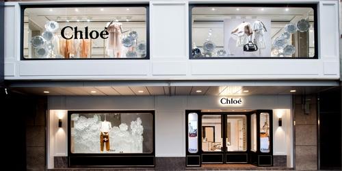 Chloé store Landmark Prince's Hong Kong.