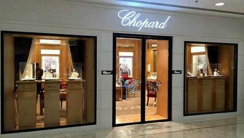 Chopard watch & jewellery store Harbour City Hong Kong.