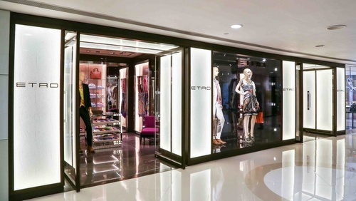 Etro clothing shop Harbour City Hong Kong.