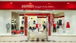 Ferrari Store Junior Harbour City Hong Kong.