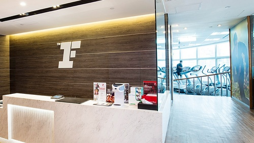 Fitness First Platinum fitness center Landmark One Exchange Square Hong Kong.