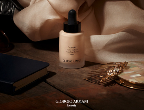 Giorgio Armani Maestro Fusion Foundation Hong Kong.