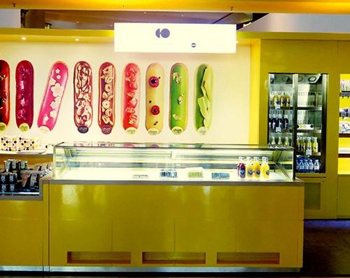 L'Eclair de Genie pastry shop Pacific Place Hong Kong.