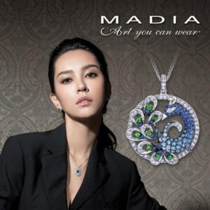 """Madia jewelry """"Art That You Can Wear""""."""