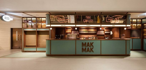 Mak Mak Thai restaurant Landmark Hong Kong.