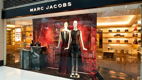 Marc Jacobs store Landmark Hong Kong.