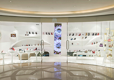Melissa shoe store Harbour City Hong Kong.