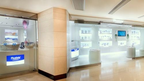 Mustela baby & maternity cosmetics shop Landmark Prince's Hong Kong.