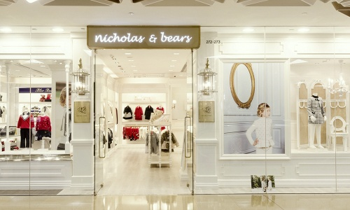 Nicholas & Bears children's clothing store Cityplaza Hong Kong.