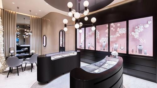 Nirav Modi jewelry store Elements Hong Kong.