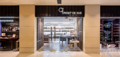 Point de Vue optical store Landmark Hong Kong.