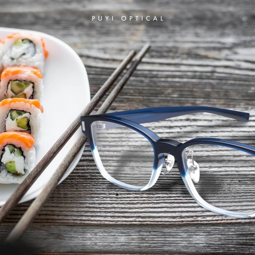 Puyi Optical 999.9 eyewear.