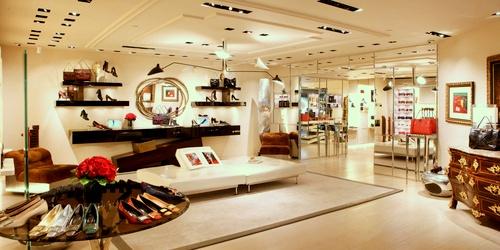 Roger Vivier shoe & accessory shop Landmark Hong Kong.