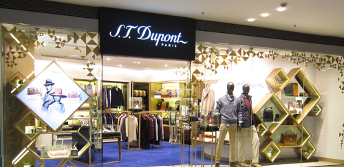 S.T.Dupont store Festival Walk Hong Kong.