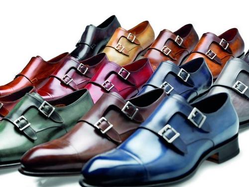 Santoni Double Boucle shoes.
