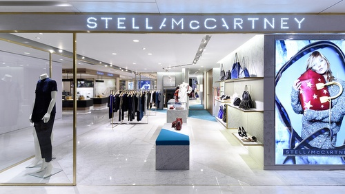 Stella McCartney shop SOGO Department Store Hong Kong.