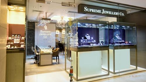 Supreme Jewellery Co. store Landmark Hong Kong.