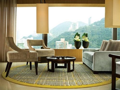 Tai Ping rug at the Upper House Hong Kong.