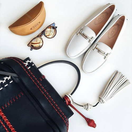 Tod's shoes, bags, accessories.
