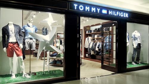 Tommy Hilfiger store Landmark Hong Kong.