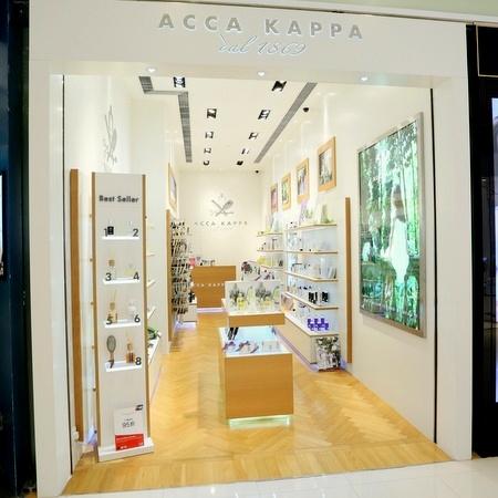 Acca Kappa beauty store Landmark North shopping center in Hong Kong.