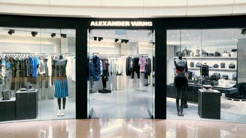 Alexander Wang shop Harbour City Hong Kong.