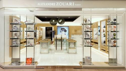 Alexandre Zouari Paris accessory store Harbour City.