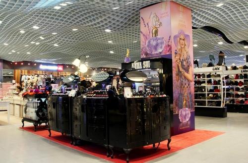 Anna Sui shop Harbour City Hong Kong.
