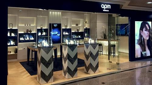 APM Monaco jewellery shop Times Square Hong Kong.