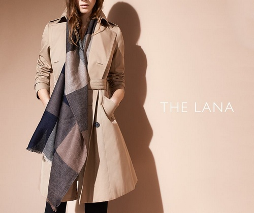 Aquascutum women's The Lana trench coat.