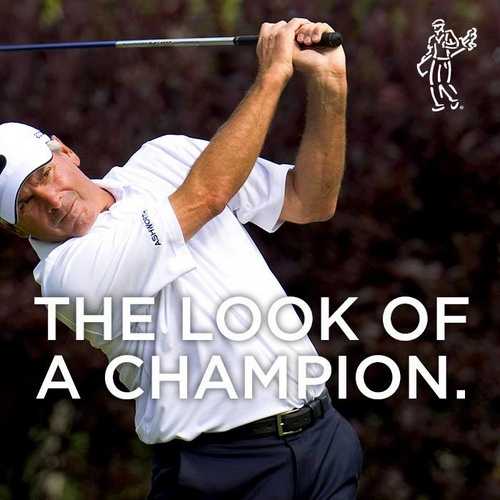Ashworth golf clothing Fred Couples.