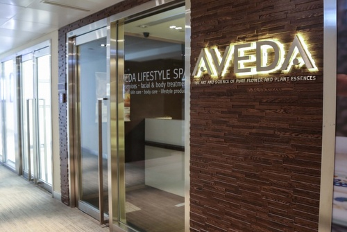 Aveda Lifestyle Salon & Spa Vita World Commerce Centre Hong Kong.
