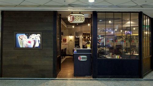 BLT Burger restaurant Times Square Hong Kong.