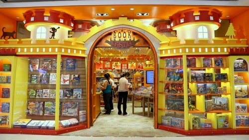 Book Castle children's book and toy store Harbour City Hong Kong.