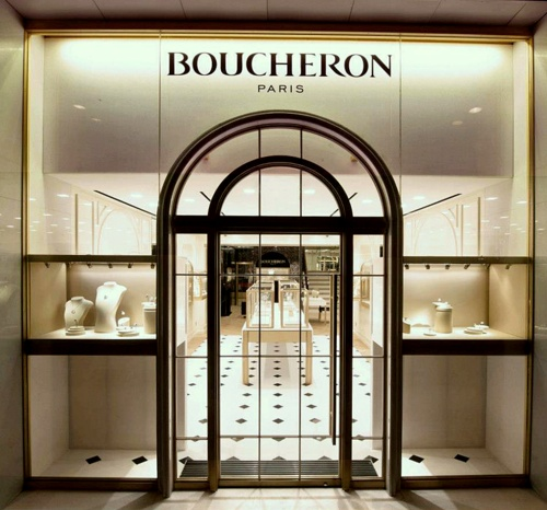 Boucheron jewellery & watch shop Harbour City Hong Kong.