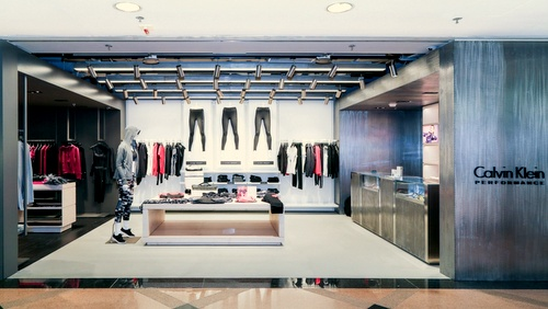 Calvin Klein Performance shop Harbour City Hong Kong.