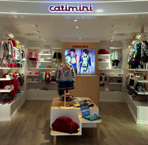 Catimini childrenswear shop SOGO department store Hong Kong.