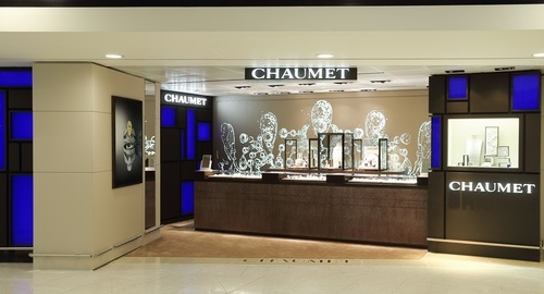 Chaumet jewellery shop Hong Kong International Airport.