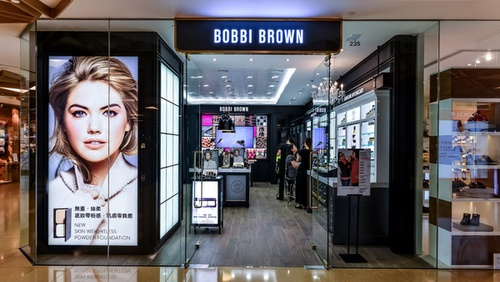 Bobbi Brown cosmetics & makeup shop Cityplaza Hong Kong.