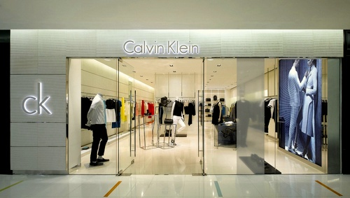 ck Calvin Klein store Harbour City Hong Kong.