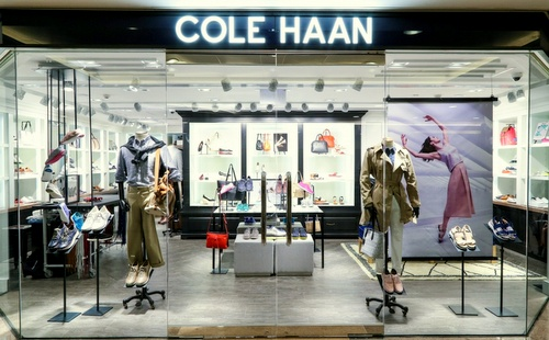 Cole Haan store Harbour City Hong Kong.