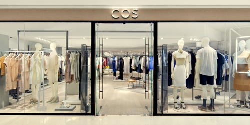 COS clothing shop Harbour City Hong Kong.